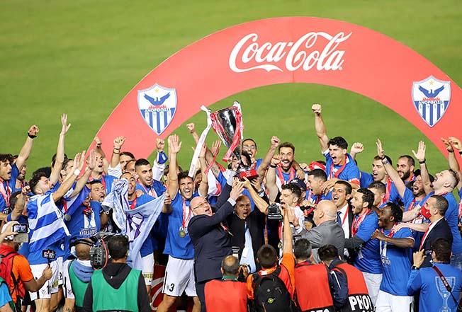 Anorthosis beat Olympiakos to win Cyprus Cup